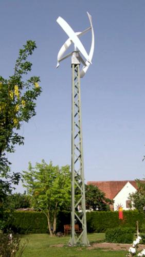 Windkraft Mast