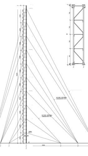Zeichnung 120 Meter Heavy